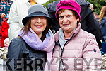 Caroline McEnery (Causeway) and Chris Reidy (Ballyheigue), pictured at Ballyheigue Pattern Day on Saturday last.