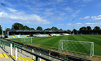 A general view of Huish Park prior to kick off for the Pre-Season Friendly between Yeovil and Swansea City at Huish Park, Yeovil, England, UK. Tuesday 10 July 2018