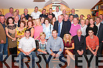 50 Rocks<br /> ----------<br /> Jerome O'Leary,Cahermoneen,Tralee(seated centre)had a fun night celebrating his 50th birthday in Stokers Lodge,Tralee last Saturday night with his wife Emer,kids Cathal&amp;Niamh and many friends,family and work colleagues from An Post.087-6290988.