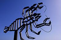 Europe/Espagne/Canaries/Lanzarote/Jameos del Agua : Sculpture de César Manrique