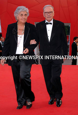 "ENNIO MORRICONE.at the  66th Venice Film Festival , Venice_02/09/2009.Mandatory Credit Photo: ©NEWSPIX INTERNATIONAL..**ALL FEES PAYABLE TO: ""NEWSPIX INTERNATIONAL""**..IMMEDIATE CONFIRMATION OF USAGE REQUIRED:.Newspix International, 31 Chinnery Hill, Bishop's Stortford, ENGLAND CM23 3PS.Tel:+441279 324672  ; Fax: +441279656877.Mobile:  07775681153.e-mail: info@newspixinternational.co.uk"