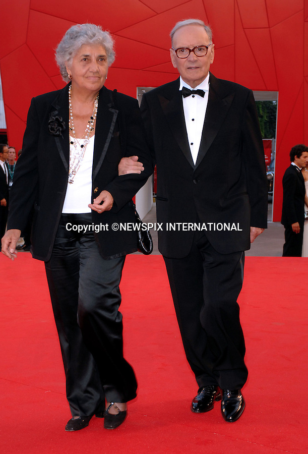 """ENNIO MORRICONE.at the  66th Venice Film Festival , Venice_02/09/2009.Mandatory Credit Photo: ©NEWSPIX INTERNATIONAL..**ALL FEES PAYABLE TO: """"NEWSPIX INTERNATIONAL""""**..IMMEDIATE CONFIRMATION OF USAGE REQUIRED:.Newspix International, 31 Chinnery Hill, Bishop's Stortford, ENGLAND CM23 3PS.Tel:+441279 324672  ; Fax: +441279656877.Mobile:  07775681153.e-mail: info@newspixinternational.co.uk"""