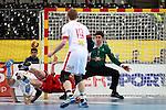 Zubai, Landin & Toft. DENMARK vs HUNGARY: 28-26 - Quarterfinal.