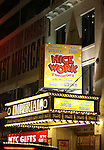 Theatre Marquee for.the Broadway Opening Night Curtain Call for  'Nice Work If You Can Get It' at the ImperialTheatre on 4/24/2012 in New York City.