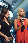 Jennifer Tilly is interviewed by Sabina Gadecki prior to play begining.