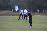 Marcel Siem (GER) on the 16th fairway during Round 1of the Sky Sports British Masters at Walton Heath Golf Club in Tadworth, Surrey, England on Thursday 11th Oct 2018.<br /> Picture:  Thos Caffrey | Golffile<br /> <br /> All photo usage must carry mandatory copyright credit (© Golffile | Thos Caffrey)
