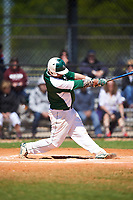 Farmingdale State Rams Nick Osburn (5) at bat during the first game of a doubleheader against the FDU-Florham Devils on March 15, 2017 at Lake Myrtle Park in Auburndale, Florida.  Farmingdale defeated FDU-Florham 6-3.  (Mike Janes/Four Seam Images)