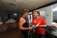 ZEILEN: DE VEENHOOP: Grytmansrak, Ie, 01-08-2016, SKS skûtsjesilen, winnaar Douwe Jzn. Visser (Sneek), ©foto Martin de Jong
