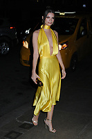 06 April 2019 - New York, New York - Emily Ratajkowski arriving for the Wedding Reception of Marc Jacobs and Char Defrancesco, held at The Pool. Photo Credit: LJ Fotos/AdMedia