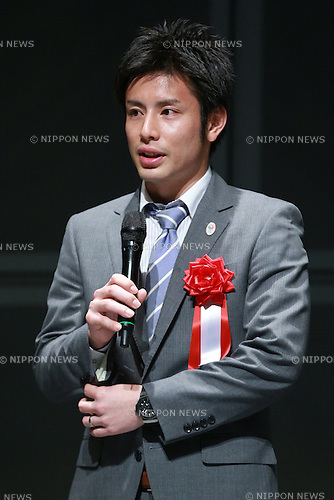 Kenichi Hayakawa,<br /> JUNE 12, 2015 - News : <br /> JOC Sports Awards ceremony <br /> at Tokyo International Forum, Tokyo, Japan. <br /> (Photo by Shingo Ito/AFLO SPORT)