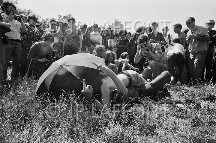 Manhattan, New York City, NY. 28 Jun 1970. <br />