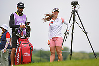 Nuria Iturrioz (ESP) looks over her tee shot on 3 during the round 2 of the KPMG Women's PGA Championship, Hazeltine National, Chaska, Minnesota, USA. 6/21/2019.<br /> Picture: Golffile | Ken Murray<br /> <br /> <br /> All photo usage must carry mandatory copyright credit (© Golffile | Ken Murray)