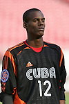 13 March 2008: Arael Arguelles (CUB) (12). The Honduras U-23 Men's National Team defeated the Cuba U-23 Men's National Team 2-0 at Raymond James Stadium in Tampa, FL in a Group A game during the 2008 CONCACAF's Men's Olympic Qualifying Tournament.
