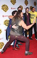 29 March 2017 - Las Vegas, NV - Jason Momoa. 2017 Warner Brothers The Big Picture Presentation at CinemaCon at Caesar's Palace.  Photo Credit: MJT/AdMedia
