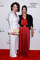 "NEW YORK CITY - APRIL 20: Davina Lamont, Hair, Makeup and Prosthetic Designer and Sonoo Mishra, Costume Designer attends National Geographic's ""Genius: Picasso"" red carpet event at the Tribeca Film Festival at the BMCC Tribeca Performing Arts Center on April 20, 2018 in New York City. (Photo by Anthony Behar/National Geographic/PictureGroup)"