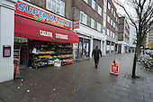 Enk Kaya set up the Caglayan Supermarket in shop premises on the New Era Estate 2 years ago, but his lease will end in April 2015, following takeover of the estate in Hoxton, London, by US property company Westbrook Partners.