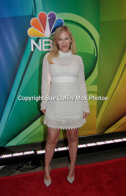Kelli Giddish - Law & Order SVU - NBC Upfront at Radio City, New York City, New York on May 11, 2015 (Photos by Sue Coflin/Max Photos)