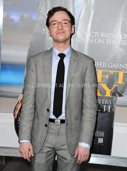 WWW.ACEPIXS.COM <br /> April 7, 2014 Los Angeles, CA<br /> <br /> Griffin Newman attending Premiere of Summit Entertainment's 'Draft Day' at Regency Bruin Theatre on April 7, 2014 in Los Angeles, California.<br /> <br /> By Line: Peter West/ACE Pictures<br /> <br /> ACE Pictures, Inc.<br /> tel: 646 769 0430<br /> Email: info@acepixs.com<br /> www.acepixs.com