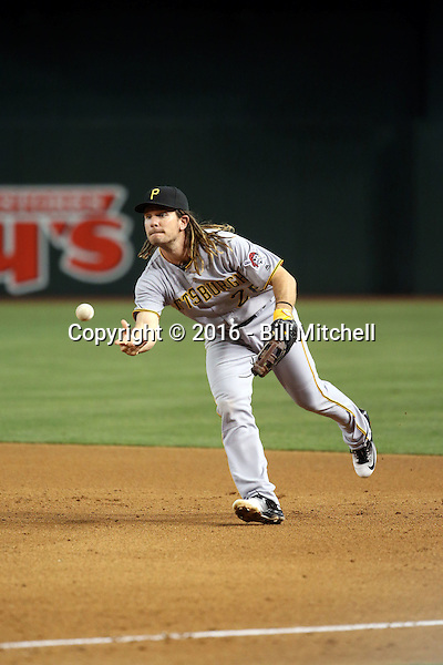 John Jaso - 2016 Pittsburgh Pirates (Bill Mitchell)