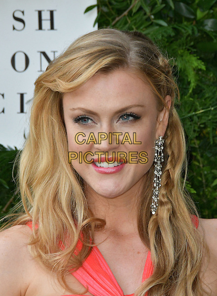 Camilla Kerslake at Charity ball in aid of One For The Boys, a charity raising awareness of male forms of cancer, encouraging men to get checked regularly. Evening celebrates the launch of the 2016 campaign film The Difference, at Victoria and Albert Museum, London, England June 12, 2016.<br /> CAP/JOR<br /> &copy;JOR/Capital Pictures