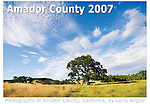 Self-published Amador County 2007 calendar by Larry Angier