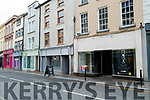 Closed shops in Castle street, Bailys corner with the grey frontage is opening soon.
