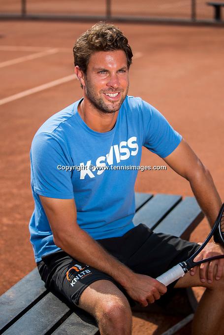 Amstelveen, Netherlands, 10 August 2020, NTC, National Tennis Center, New KNLTB coach Peter Lucassen (NED)  <br /> Photo: Henk Koster/tennisimages.com