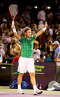 Tomas BERDYCH (CZE) against Robin SODERLING (SWE) in the semi-finals of the men's singles. Tomas Berdych beat Robin Soderling 6-2 6-2..International Tennis - 2010 ATP World Tour - Sony Ericsson Open - Crandon Park Tennis Center - Key Biscayne - Miami - Florida - USA - Fri 2 Apr 2010..© Frey - Amn Images, Level 1, Barry House, 20-22 Worple Road, London, SW19 4DH, UK .Tel - +44 20 8947 0100.Fax -+44 20 8947 0117