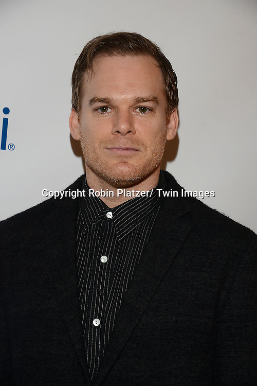 Michael C Hall attends the 80th Annual Drama League Awards Ceremony and Luncheon on May 16, 2014 at the Marriot Marquis Hotel in New York City, New York, USA.