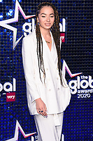 Ella Eyre<br /> arriving for the Global Awards 2020 at the Eventim Apollo Hammersmith, London.<br /> <br /> ©Ash Knotek  D3559 05/03/2020