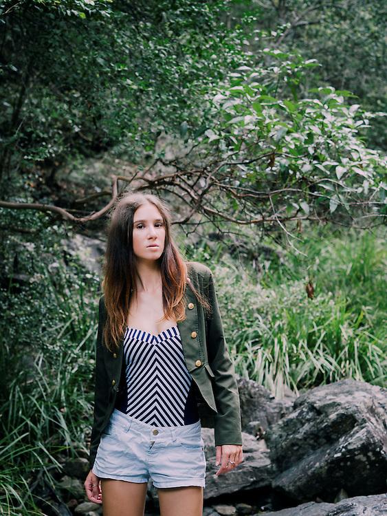 Katie from Mystique Model Management Photoshoot in Mt Coot-tha, Brisbane, Queensland, Australia, Wednesday, March 23, 2016.  (Photo by @John Pryke Photographer )