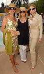 Vesta Frommer, Patricia Griffith and Molly Hubbard at the River Oaks International Tennis Tournament Luncheon at the River Oaks Country Club Wednesday April 16,2008. (Dave Rossman/For the Chronicle)
