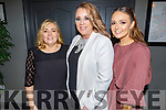 Hannah Keliher, Lisa Martin and Rose Kelliher attending the Connect Kerry Women's Christmas in Style lunch in the Ashe Hotel on Sunday.