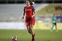 Cary, NC - Saturday April 22, 2017: Meghan Cox during a regular season National Women's Soccer League (NWSL) match between the North Carolina Courage and the Portland Thorns FC at Sahlen's Stadium at WakeMed Soccer Park.