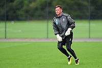 Josh Gould of Swansea city during the Swansea City Training Session at The Fairwood Training Ground, Wales, UK. Tuesday 11th September 2018