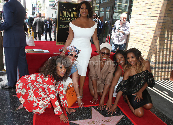 HOLLYWOOD, CA - JULY 11: Niecy Nash, Aisha Hinds, Guests, at Niecy Nash Honored With Star On The Hollywood Walk Of Fame in Hollywood, California on July 11, 2018. Credit: Faye Sadou/MediaPunch
