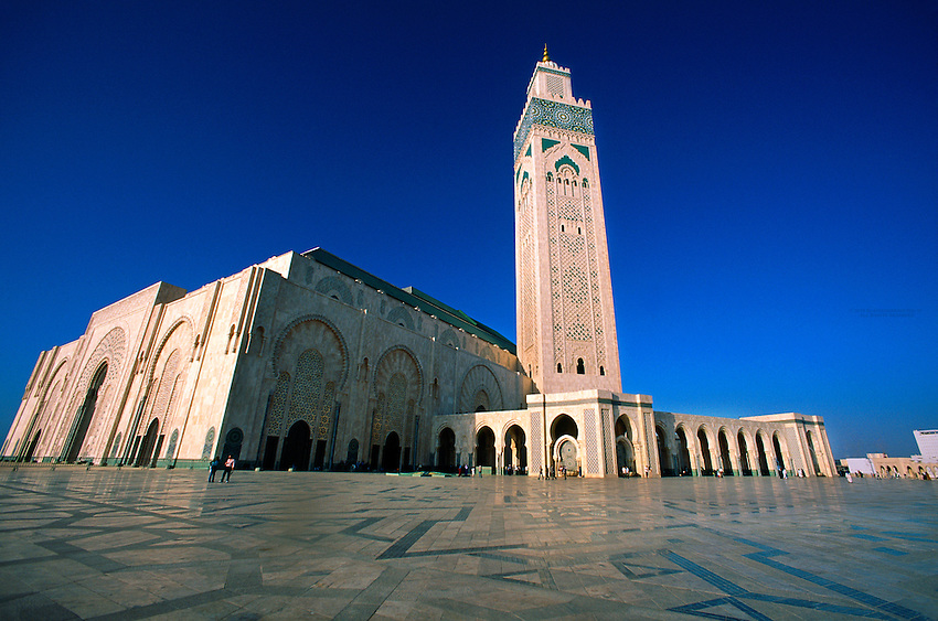 Grand Mosquee D'Hassan II (the second largest mosque in the world), Casablanca, Morocco