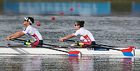 Sarasota. Florida USA.  Final A PR3  USA PR3 <br /> Laura GOODKIND and  Isaac FRENCH. 2017 World Rowing Championships, Nathan Benderson Park<br /> <br /> Saturday  30.09.17   <br /> <br /> [Mandatory Credit. Peter SPURRIER/Intersport Images].<br /> <br /> <br /> NIKON CORPORATION -  NIKON D500  lens  VR 500mm f/4G IF-ED mm. 250 ISO 1/2500/sec. f 5