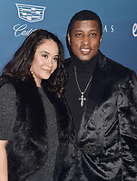 LOS ANGELES, CA - JANUARY 05: Nicole Pantenburg (L) and Kenny 'Babyface' Edmonds attend Michael Muller's HEAVEN, presented by The Art of Elysium at a private venue on January 5, 2019 in Los Angeles, California.<br /> CAP/ROT/TM<br /> &copy;TM/ROT/Capital Pictures