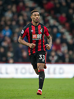 Jordon Ibe of AFC Bournemouth during the Premier League match between Bournemouth and Arsenal at the Goldsands Stadium, Bournemouth, England on 14 January 2018. Photo by Andy Rowland.