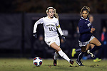 WINSTON-SALEM, NC - NOVEMBER 10: Wake Forest's Maddie Huster. The Wake Forest University Demon Deacons hosted the Georgetown University Hoyas on November 10, 2017 at W. Dennie Spry Soccer Stadium in Winston-Salem, NC in an NCAA Division I Women's Soccer Tournament First Round game. Wake Forest advanced 2-1 on penalty kicks after the game ended in a 0-0 tie after overtime.