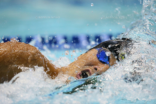 Takeshi Matsuda, <br /> FEBRUARY 21, 2015 - Swimming : <br /> KONAMI OPEN 2015 <br /> Men's 200m Freestyle Heat <br /> at Tatsumi International Swimming Pool, Tokyo, Japan. <br /> (Photo by YUTAKA/AFLO SPORT) [1040]