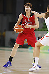 Ramu Tokashiki (JPN), AUGUST 6, 2016 - Basketball : <br /> Women's Preliminary Round <br /> between  Japan 77-73 Belorussiya  <br /> at Youth Arena <br /> during the Rio 2016 Olympic Games in Rio de Janeiro, Brazil. <br /> (Photo by Yusuke Nakanishi/AFLO SPORT)