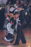 Andrei Mosejcuk and Kamila Kajak from Poland perform their dance during the Professional Latin-american competition of the Blackpool Dance Festival that is the most famous event among dance competitions held in Blackpool, United Kingdom on June 02, 2011. ATTILA VOLGYI