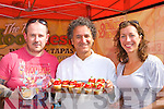 Keith Malee Killorglin, and Nora Golden Killorglin enjoying Carlos Luge Food Fiesta Listowel tasty treats at the Flavour of Killorglin on Sunday