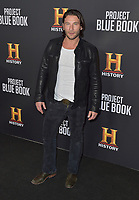 "03 January 2019 - Los Angeles, California - Zach McGowan. ""Project Blue Book"" History Scripted Series Los Angeles Premiere held at Simon House. Photo Credit: AdMedia"