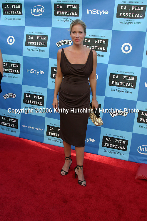 "Christina Applegate.""Little Miss Sunshine"" Premiere.Wadsworth Theater.Westwood, CA.July 2, 2006.©2006 Kathy Hutchins / Hutchins Photo...."