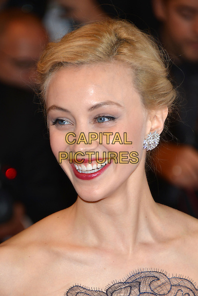CANNES, FRANCE - MAY 19: Sarah Gadon attends the'Maps To The Stars' premiere during the 67th Annual Cannes Film Festival on May 19, 2014 in Cannes, France.<br /> CAP/PL<br /> &copy;Phil Loftus/Capital Pictures