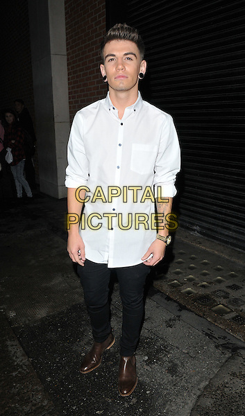 Jake Sims attends the Jeans for Genes Day 2015 launch party, Chinawhite, Winsley Street, London, England, UK, on Wednesday 02 September 2015. <br /> CAP/CAN<br /> &copy;CAN/Capital Pictures
