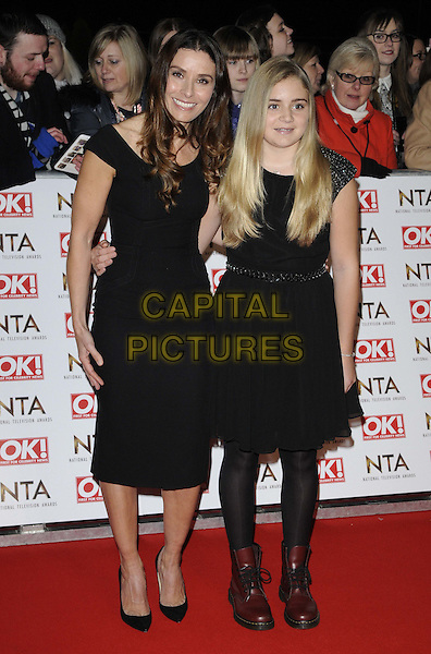 LONDON, ENGLAND - JANUARY 21: Tana Ramsay &amp; Matilda Ramsay attend the National TV Awards 2015, The O2 Arena, Millennium Way, Peninsula Square, Greenwich, on Wednesday January 21, 2015 in London, England, UK. <br /> CAP/CAN<br /> &copy;Can Nguyen/Capital Pictures